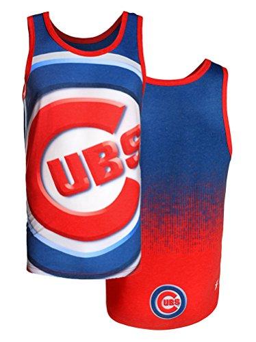 Chicago Cubs MLB Mens Big Logo Tank Top Shirt, Blue
