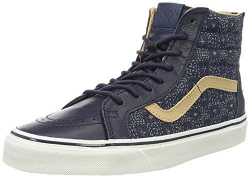 Vans Herren Ua Sk8-Hi Hightop Sneaker Dunkelblau
