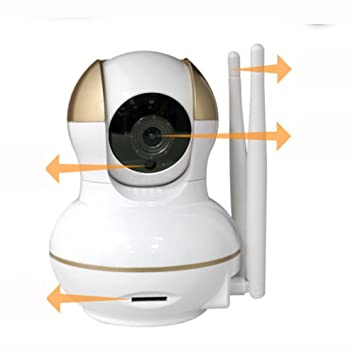 wly&home H.264 IP WiFi P2P Cámara Video Vigilancia HD 720P, para tu teléfono