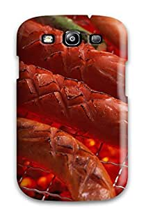 High Grade Renita J Taylor Flexible Tpu Case For Galaxy S3 - Grilled Everything