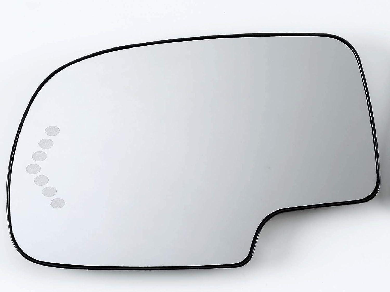 Heated w//Signal Mirror Glass Fits Silverado Gm Sierra 1500 2500 3500 03-07 Power Rh