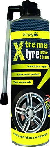 Simply SX500 Xtreme Tyre Inflator and Sealer, 500ml,Fix Leak, Instant...