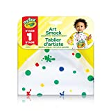Crayola My First Art Smock, Art Supplies for Toddlers, for Girls and Boys, Gift for Boys and Girls, Kids, Ages 3, 4, 5,6 and Up, Arts and Crafts,  Gifting