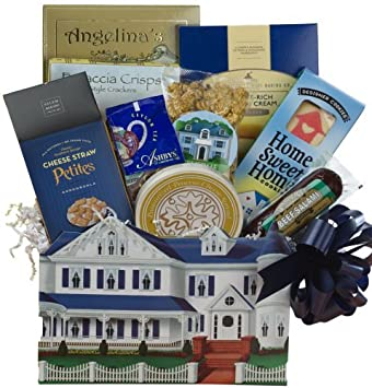 Welcome To Your New Home Housewarming Gourmet Food Gift Box
