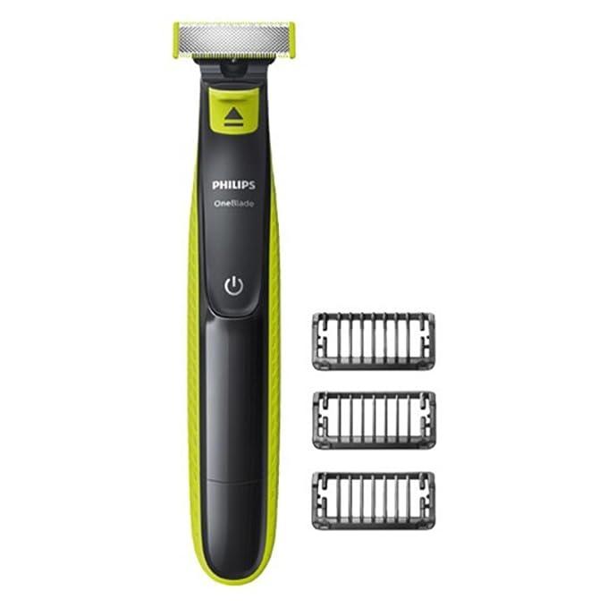 Philips OneBlade QP2520/20 - Recortador de barba, recorta, perfila y afeita