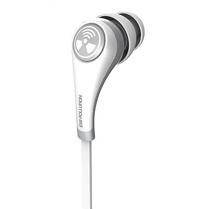 35e6e5fbec8 Amazon.com: iFrogz IFPZMB-WH0 Ear Pollution Plugz, Earbuds for ...