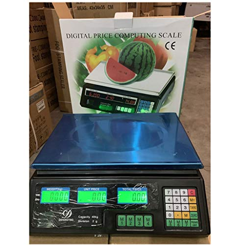 Digital Food Kitchen Scales, 30KG/5g Electronic Stainless Steel Weighing Cooking Scales With Backlight Display ES1017…