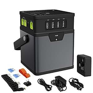 TAVLAR 50000mAh Multifunction Power Bank DC/AC Portable Power Inverter AC Car Adapter