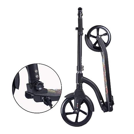 H-titabanche Scooter de Acrobacias Patinete Plegable Unisex ...