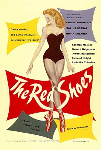 Amazon.com: The Red Shoes POSTER Movie (27 x 40 Inches - 69cm x ...