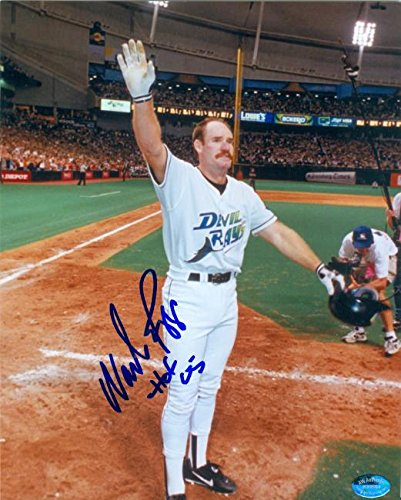 Autograph 120145 Tampa Bay Devil Rays Inscribed Hof 05 Wade Boggs Autographed 8 x 10 in. Photo (Tampa Bed Rays Bay)