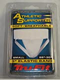 "New Tru Fit Athletic Supporter Jock Strap 3"" Elastic Band Small"
