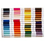 Non-twisted Flat Silk Embroidery Thread - 60 colors set - Import from Kyoto Japan