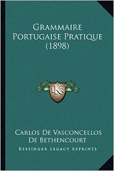 Book Grammaire Portugaise Pratique (1898)