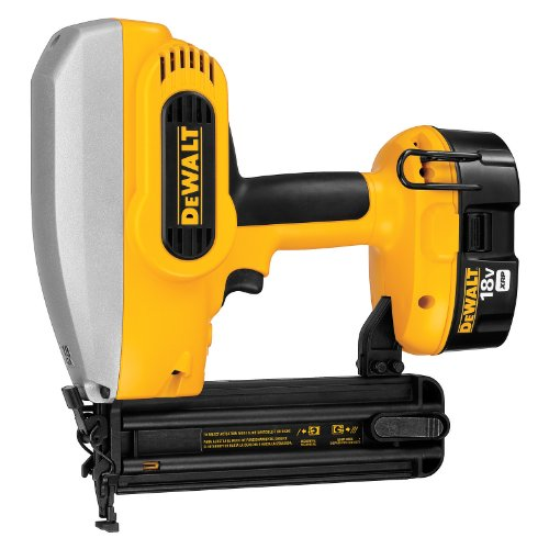 Batteries 2 Kit 18 Gauge (DEWALT DC608K 18-Volt 18-Gauge 2-Inch Brad Nailer Kit)