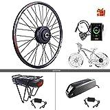 BAFAGN 48V 500W Ebike Conversion Kit for Bike DIY Electric Bike Motor Kit