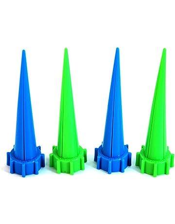 4pcs picos de cono de jardín plantas de riego de goteo automático de control de riego