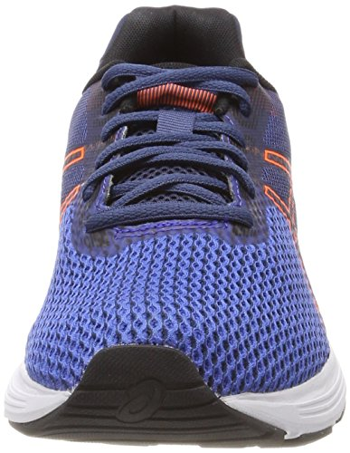 Running 4530 Da Scarpe Orange victoria Blue Black Uomo Asics Gel Shocking 9 Blu phoenix qpXO4