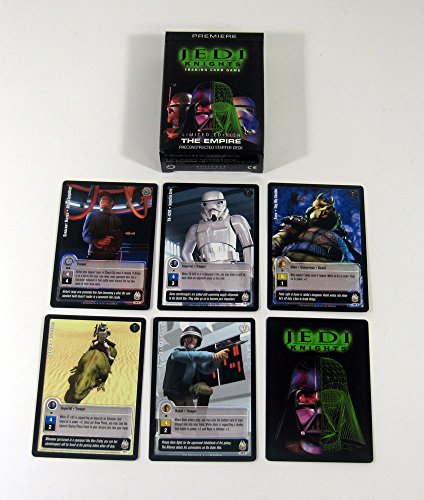 2001 Decipher Star Wars Jedi Knights CCG Starter Deck (60) Not Sealed