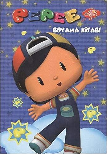 Pepee Renkli Boyama Kitabı 20x28 4 Yp Amazoncomtr