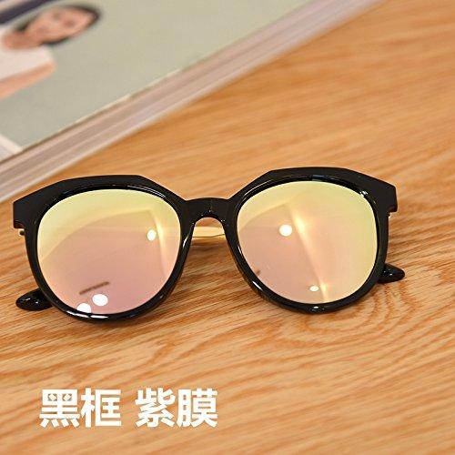 De De para Violeta Gafas Gafas Xue Brown Sol Sol zhenghao qEFwnR7