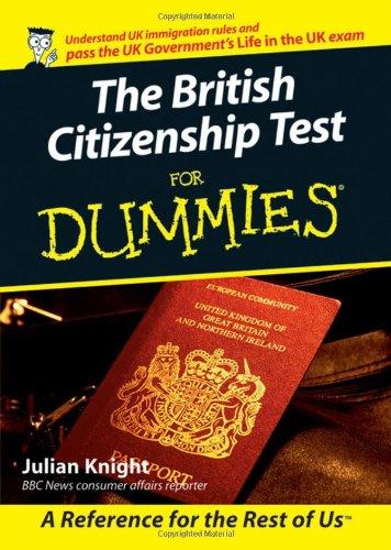 British Citizenship Test for Dummies