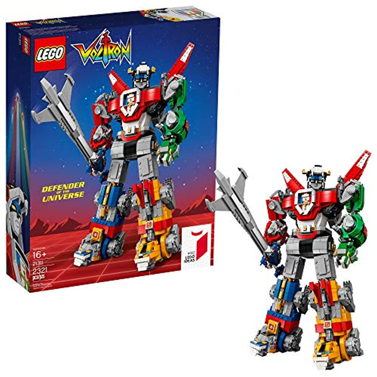 [해외] LEGO IDEAS기밀 아이디어V 21311 V ( 2321 PIECE)고, 멀티