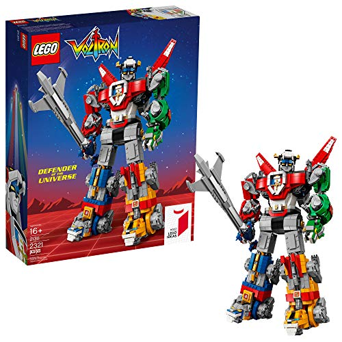 LEGO Ideas Voltron 21311 Building Kit (2321 Pieces) (Best Lego Ever Built)