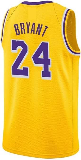 A-lee - Camiseta de baloncesto para hombre - Número 24 de