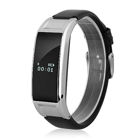 Diggro Oled Reloj de Pulsera Smartwatch Bluetooth (Snyc, Anti-robo, Podómetro, Monitor Sueño, Cámara Control Remoto) Compatible con Android iOS ...