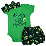 Unique Baby Girls 1st ST Patricks Day Dads Lucky