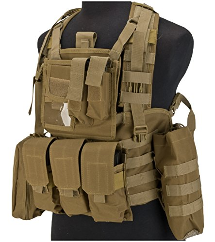 (Evike Matrix Special Operations RRV Alt Style Chest Rig - Coyote -)