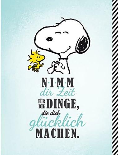 "Snoopy Collection - Collegeblock""Nimm dir Zeit"", DIN A4, 80 Blatt, kariert"