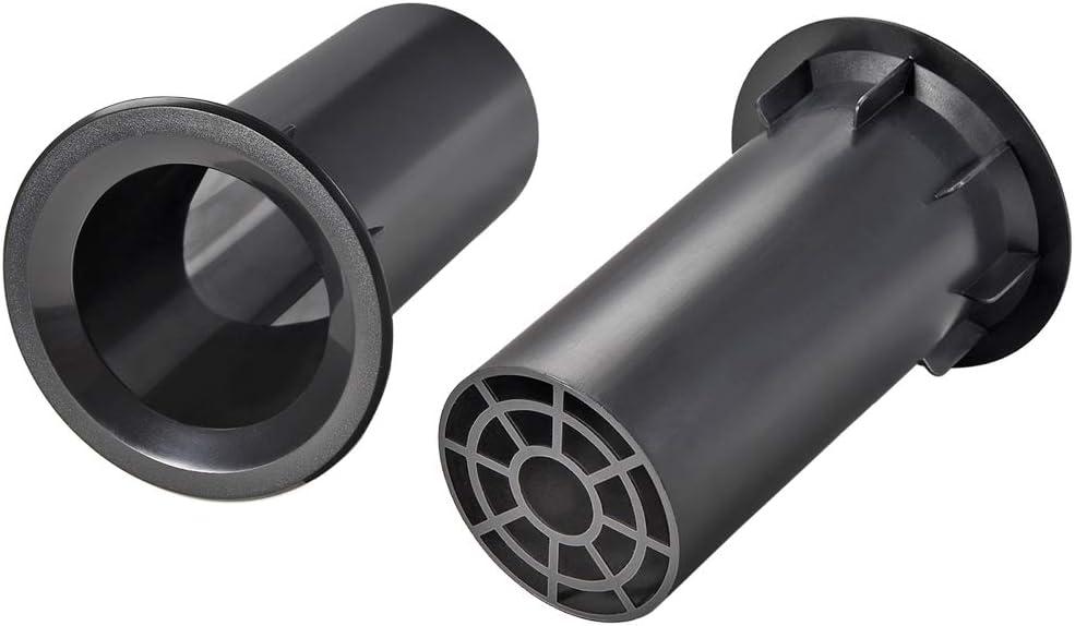 uxcell 84mm x 150mm Speaker Port Tube Subwoofer Bass Reflex Tube Bass Woofer Box 2pcs