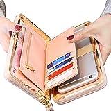 78146b28b27a 4 · Women Bowknot Wallet Long Purse Phone Card Holder Clutch Large Capacity  Pocket