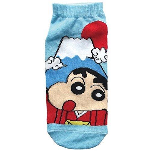 Crayon Shin-chan socks Mount Fuji Blue 22cm ~ 24cm KYSOC450J (Socks Crayon)