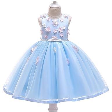 LADYLUCK Vestido Fiesta Niña Princesa Falda Bebé Disfraz De ...