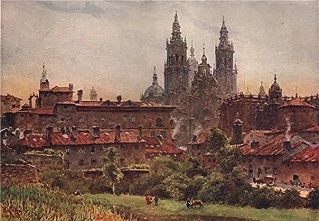La Catedral, Santiago de Compostela, España, by William ...