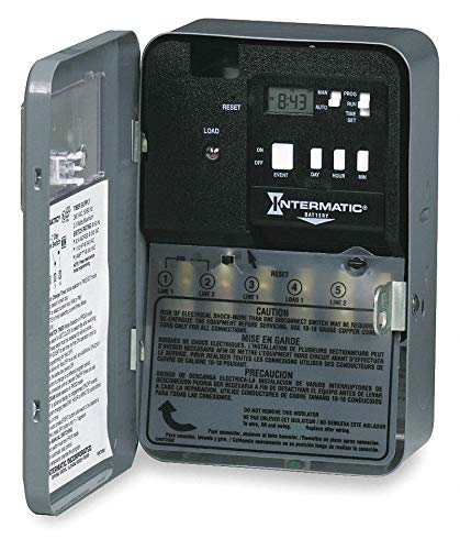 (INTERMATIC Electronic Water Heater Timer, 30 Amps, 240VAC Voltage, Number of Channels:)