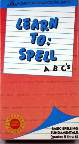 Learn To: Spell [VHS] (Grades 2 thru 6)