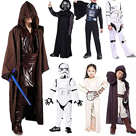 Star Wars Kids Costumes Darth Vader Jedi Knights of REN Girls ...