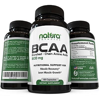 Natura Formulas BCAA Nutritional Supplement
