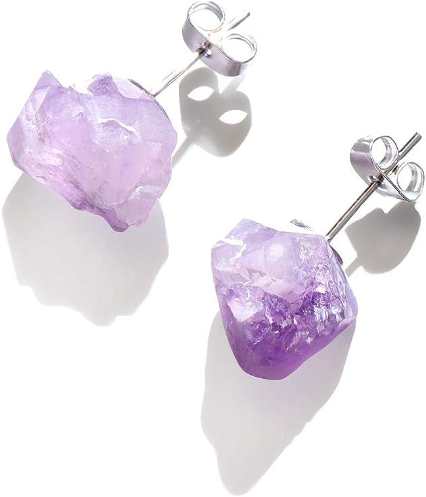 Aretes de cuarzo con cristal natural