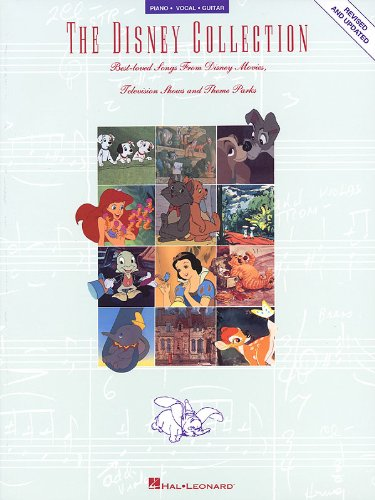 The Disney Collection - Piano/Vocal/Guitar Songbook