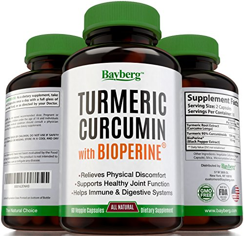 Turmeric Curcumin with Bioperine (Black