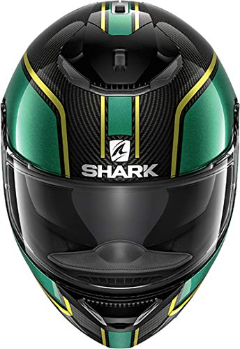 Motorcycle helmets Shark SPARTAN CARBON 1.2 SKIN DWS S Noir//Blanc