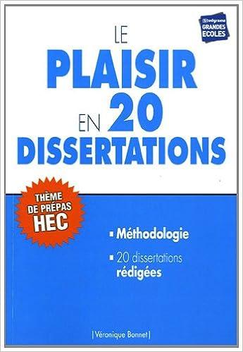 Lire Le plaisir en 20 dissertations : Sujet des concours EC 2013 pdf ebook