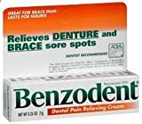 Benzodent 0.25 oz (3 pack)