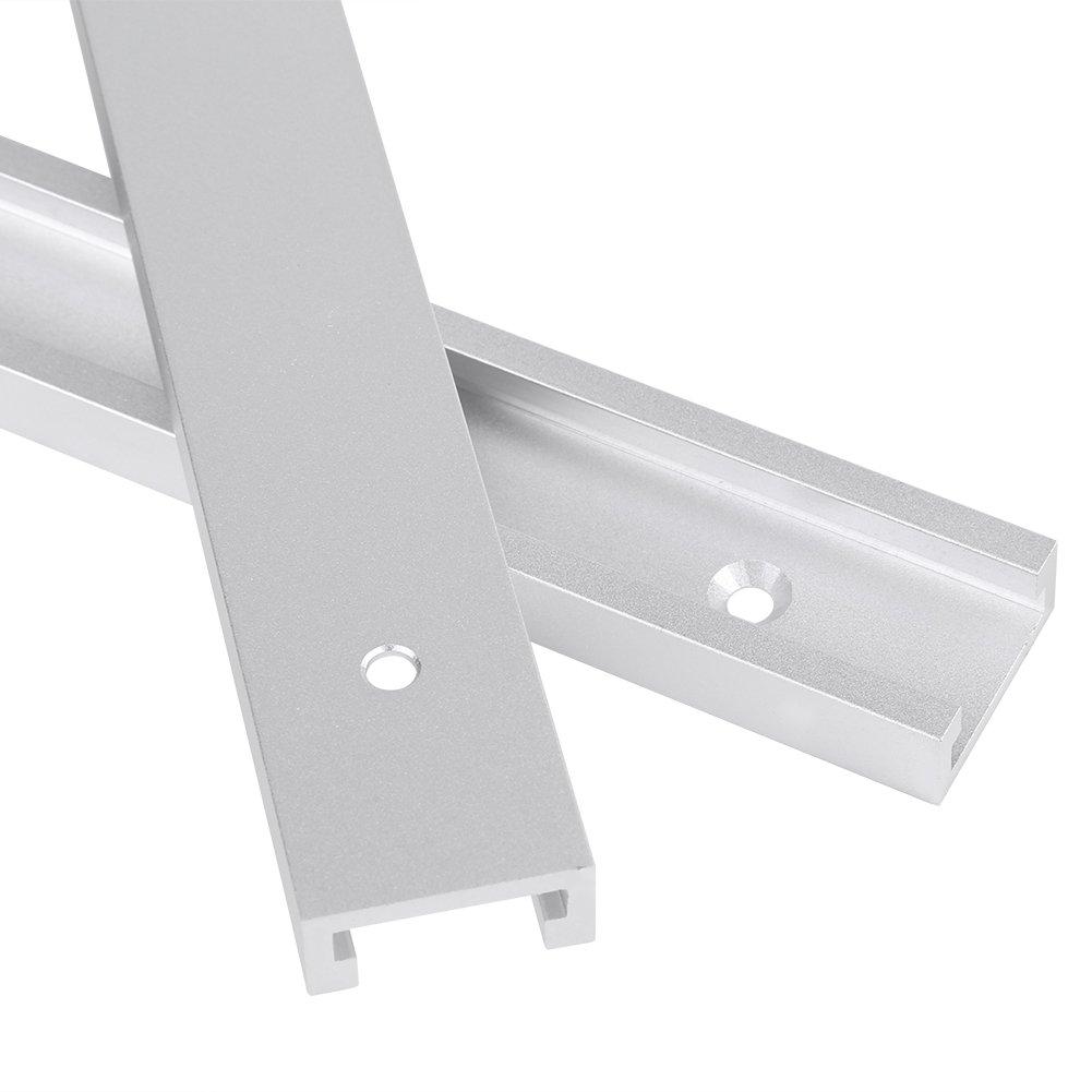 Aluminum Alloy T-Track Woodworking Tool Professional Workbench Machines Equipment 300mm//400mm T-Slot 400mm