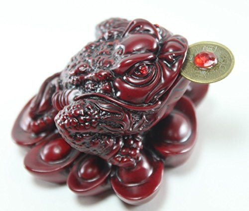 ey Toad/ Frog /Chan Chu - Feng Shui Chinese Charm of Prosperity Decoration Gift US Seller (Feng Shui Toad)